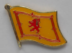 Scotland Lion Country Flag Enamel Pin Badge